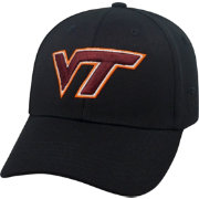 Top of the World Men's Virginia Tech Hokies Black Premium Collection M-Fit Hat