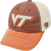 Top of the World Men's Virginia Tech Hokies Maroon/White/Burnt Orange Off Road Adjustable Hat