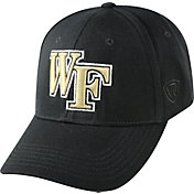 Top of the World Men's Wake Forest Demon Deacons Black Premium Collection M-Fit Hat