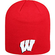 Top of the World Men's Wisconsin Badgers Red TOW Classic Knit Beanie