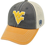Top of the World Men's West Virginia Mountaineers Blue/White/Gold Off Road Adjustable Hat