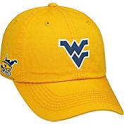 Top of the World Men's West Virginia Mountaineers Gold Football Crew Adjustable Hat