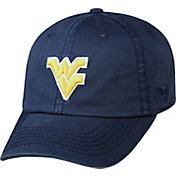 Top of the World Men's West Virginia Mountaineers Blue Crew Adjustable Hat