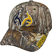 Top of the World Men's West Virginia Mountaineers Camo Realtree Xtra 1Fit Hat