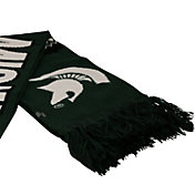 Top of the World Women's Michigan State Spartans Green/White Polar Vortex Scarf