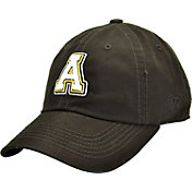 Top of the World Men's Appalachian State Mountaineers Black Crew Adjustable Hat