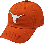 Top of the World Youth Texas Longhorns Burnt Orange Crew Adjustable Hat