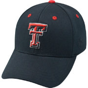 Top of the World Youth Texas Tech Red Raiders Rookie Black Hat