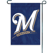 Party Animal Milwaukee Brewers Garden/Window Flag