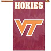 The Party Animal Virginia Tech Hokies Applique Banner Flag