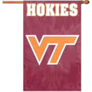 The Party Animal Virginia Tech Hokies Applique Banner Flag