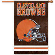 The Party Animal Cleveland Browns Applique Banner Flag