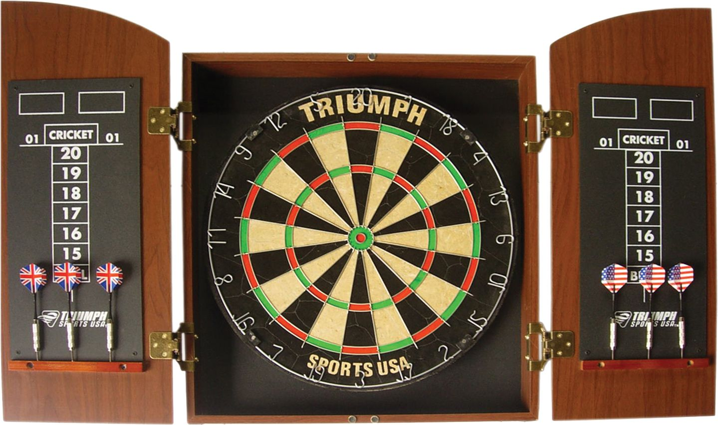 triumph wellington bristle dartboard and cabinet set dick s rh dickssportinggoods com print picture on dartboard show me a picture of a dart board