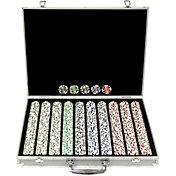 Trademark Poker 1,000 Aces Chip Poker Set and Aluminum Case