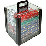 product image trademark poker pro clay casino chip poker set and case - Poker Sets