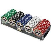 product image trademark poker 100 espn assorted edition chip poker set - Poker Sets