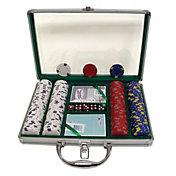 Trademark Poker 200 Pro Clay Casino Chip Poker Set and Case