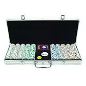 Trademark Poker 500 Aces Chip Poker Set and Aluminum Case