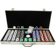 Trademark Poker 650 Royal Suited Chip Poker Set and Case
