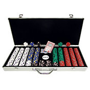 Trademark Poker 650 Pro Clay Casino Chip Poker Set and Case