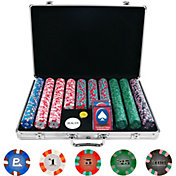 product image trademark poker 650 chip nexgen pro classic style poker chip set and case - Poker Chips Set
