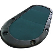 Trademark Poker Texas Hold 'Em Fold-Up Table Top and Case