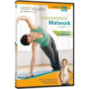 STOTT PILATES Intermediate Matwork DVD