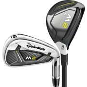 TaylorMade 2017 M2 Rescue/Irons - (Graphite/Steel)