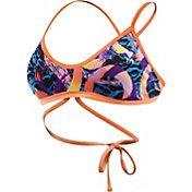 TYR Women's Enso Twist Fit Cross Back Swimsuit Top