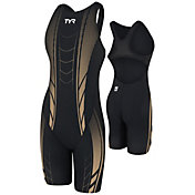 TYR AP12 Women's Credere Compression Open Back Swimsuit
