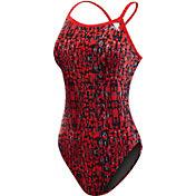 TYR Women's Petra Diamondfit Open Back Swimsuit
