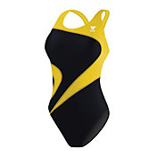 TYR Women's Alliance Team T-Splice Maxback Tank Swimsuit