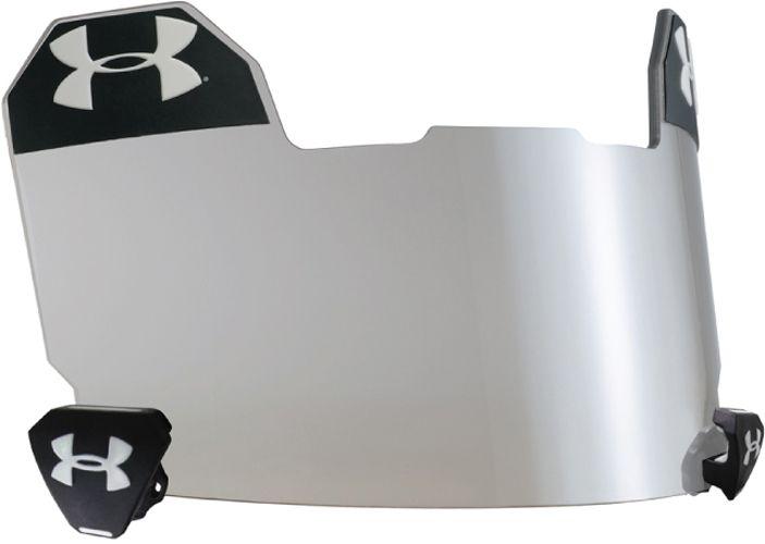 under armour football visor. under armour adult standard football visor - clear a