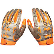 Under Armour Adult F5 Realtree Camo Receiver Gloves