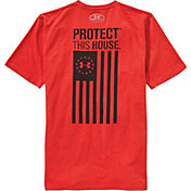Under Armour Men's Protect This House Freedom Flag T-Shirt