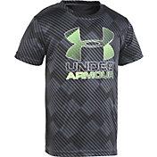 Under Armour Little Boys' Tilt Shift Big Logo T-Shirt