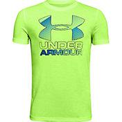 Under Armour Boys' Hybrid Big Logo T-Shirt