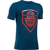 Under Armour Boys' Basketball Badge T-Shirt