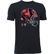 Under Armour Boys' Football Space Helmet T-Shirt