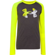Under Armour Boys' Big Logo Long Sleeve Shirt