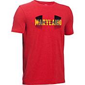 Under Armour Boys' Maryland Big Logo T-Shirt