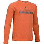 Under Armour Boys' ColdGear Infrared Camo Printed Long Sleeve Shirt