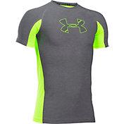 Under Armour Boys' HeatGear Armour Patterned T-Shirt