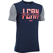 Under Armour Boys' SC30 I Can I Will Graphic Basketball T-Shirt