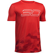 Under Armour Boys' SC30 Raise Up Basketball T-Shirt