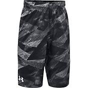 Under Armour Boys' SC30 Essentials Printed Basketball Shorts