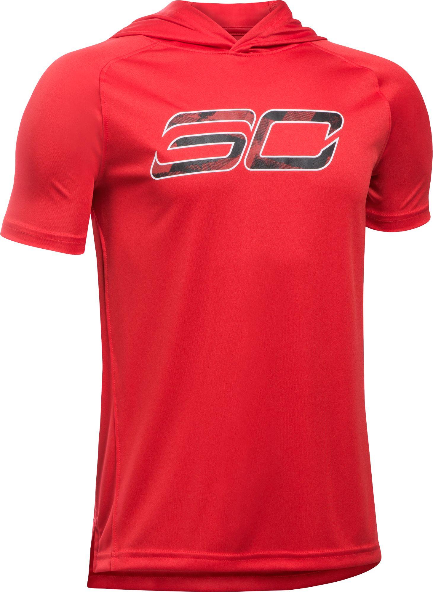 Under Armour Boys' SC30 Essentials Short Sleeve Hoodie | DICK'S ...