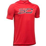Under Armour Boys' SC30 Essentials Short Sleeve Hoodie