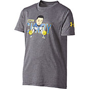 Under Armour Boys' SC30 Warm Up Drill Graphic Basketball T-Shirt