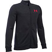 Under Armour Boys' Sportstyle Fleece Bomber Jacket